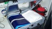 Gel backboard pad aims to reduce pain