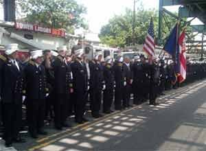 Photo FDNYFire Commissioner Salvatore Cassano and Chief of Department Kilduff joined firefighters from across the city for the memorial mass.
