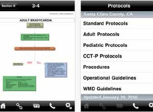 Image Acid RemapSmartphone apps like the Paramedic Protocol Provider by Acid Remap are putting reference information that was previously only available in cumbersome binders into medics' pockets.