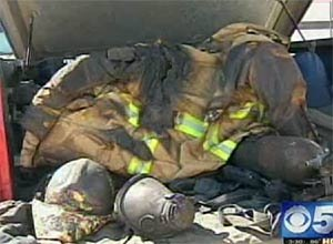 Image KPHOThe charred gear remains as a reminder of the incident.