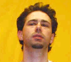 This undated file photo provided by the Ohio Department of Rehabilitation and Correction shows Casey Pigge, charged with the Feb. 1, 2017, strangulation death of fellow inmate David Johnson on a prison transport van, two days after Pigge pleaded guilty to the Feb. 23, 2016, beating death of cellmate Luther Wade.