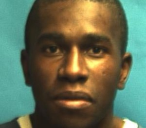 Joseph Miller became combative Wednesday night and stabbed three COs in the face. (Photo/Fla. DOC)