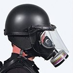 Sirchie Tactical Riot Duty Helmets