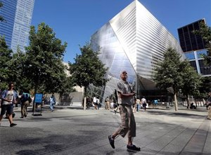The long-awaited museum dedicated to the victims of the Sept. 11 terror attacks will open to the public at the World Trade Center site on May 21, officials announced Monday. (AP Photo/Mary Altaffer, File)