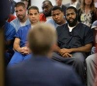 Inmates, Mass. prosecutor candidates talk policy at unusual forum