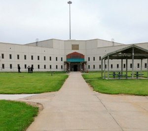 In this May 19, 2015 file photo, a housing unit is seen on the grounds of the Tecumseh State Correctional Institution during a media tour of the facility, in Tecumseh, Neb.