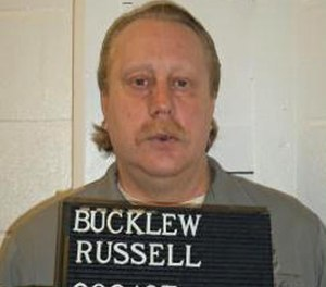 This undated photo provided by the Missouri Department of Corrections shows Russell Bucklew. (Missouri Department of Corrections via AP)
