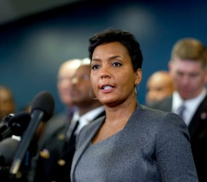 Mayor Keisha Lance Bottoms of Atlanta signed an executive order calling for all remaining ICE detainees to be transferred out of the city jail. (AP Photo/David Goldman, File)