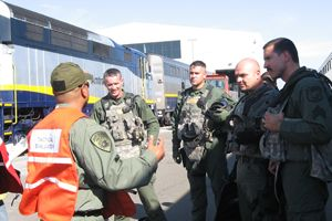 Stanislaus County Sheriff's Office Debrief at Amtrak Exercise