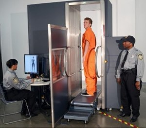 Body scanners can detect foreign objects and contraband, including weapons and drugs. (Photo/Smiths Detection)