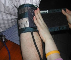 Blood pressure should be considered in the whole assessment of the patient and not purely as an independent finding.
