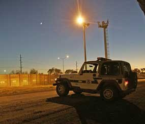 The zero-tolerance zone for Operation Streamline has been extended to include all 210 miles (340 kilometers) of the Del Rio sector and other stretches of Mexico's border with Texas, New Mexico and Arizona. (AP Photo)