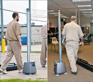 The Department of Public Safety and Correctional Services purchased 161 Cellsense metal detectors. (Photo/CellSense)