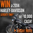 Win a 2014 Harley from California Casualty!