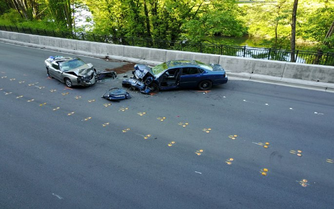 Between June 5, 2017, and June 7, 2017, our UAS team was requested to map two horrific traffic accident scenes. (Photo/Tukwila PD)