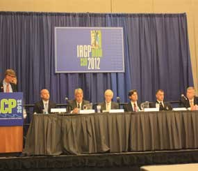 Dr. Reed Smith was among the panelists on a Sunday afternoon session at IACP 2012, which was made up of individuals from FEMA, DHS, FBI, NCTC, and several local police and fire agencies, who convened to discuss the lessons learned from a series of regional workshops held in the past two years.