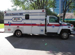 Image Dan WhiteDREAMS was in use for several years on five ambulances in Liberty County, Texas.