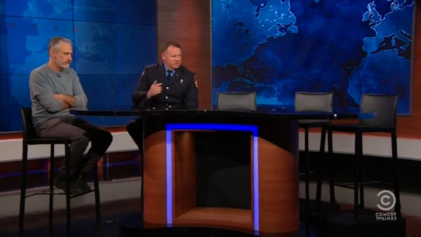 Daily Show 1st Responder Panel December 2015