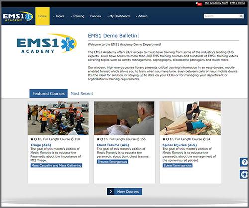 EMS1 Academy LMS