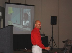 Photo Jamie ThompsonWirth talks to an audience at EMSToday.