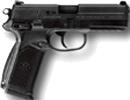 FNP-45, DA/SA, Matte Black Stainless