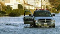 Floodwater safety tips for police officers