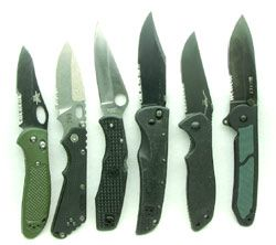 How to buy a police duty knife
