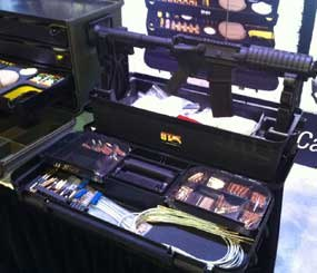 The Team Range Box is available in six different combinations of common law enforcement calibers. (PoliceOne Image)