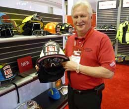 Photo Rick MarkleyThomas Stachler, Honeywell's product manager for helmets and gloves, said that some hardness was sacrificed make the helmets lighter.