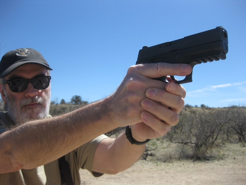 The author found the 9mm SIG P320 Compact to be reliable, accurate, comfortable to shoot, easy to operate and well suited for concealed carry. (Photo/Nick Jacobellis)