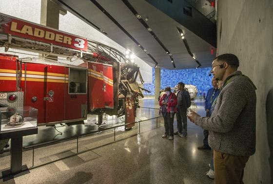 """""""Uncommon Courage: First Responders on 9/11"""" walks visitors through the museum and tells the heroic stories of responders who took part in the largest mobilization of emergency personnel in American history. (Photo/911memorial.org)"""