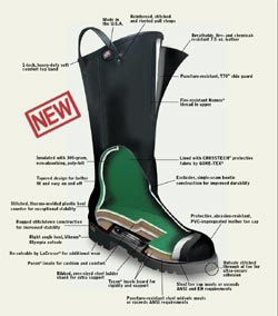 Supply Nfpa Certified Fire Boots
