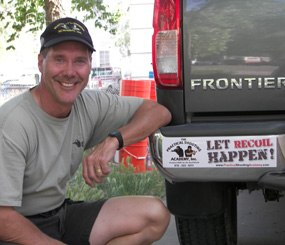 """PoliceOne Firearms Columnist Ron Avery has facetiously told many of his students, """"I am going to make bumper stickers with the phrase LET RECOIL HAPPEN on it."""" It is very important to learn to hold both body and mind still while you press the trigger and let your body absorb the recoil. In order to do this you must learn to relax. Trying to excessively tense your body only makes recoil harsher and worsens the flinch. You must learn to grip the handgun without tensing the rest of your body."""