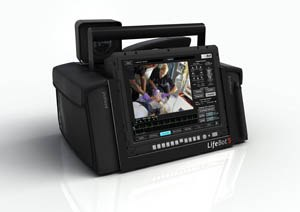 Photo Lifebot A wide array of diagnostic equipment in a portable, 15 lb. device.