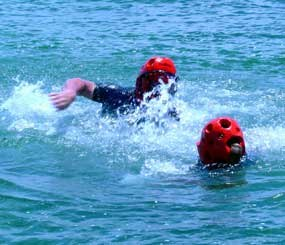 For water training, you can achieve the needed protection on top of docks, various decks, and even boats (with or without engines), when you pad up those surfaces with the right kind of training gear.