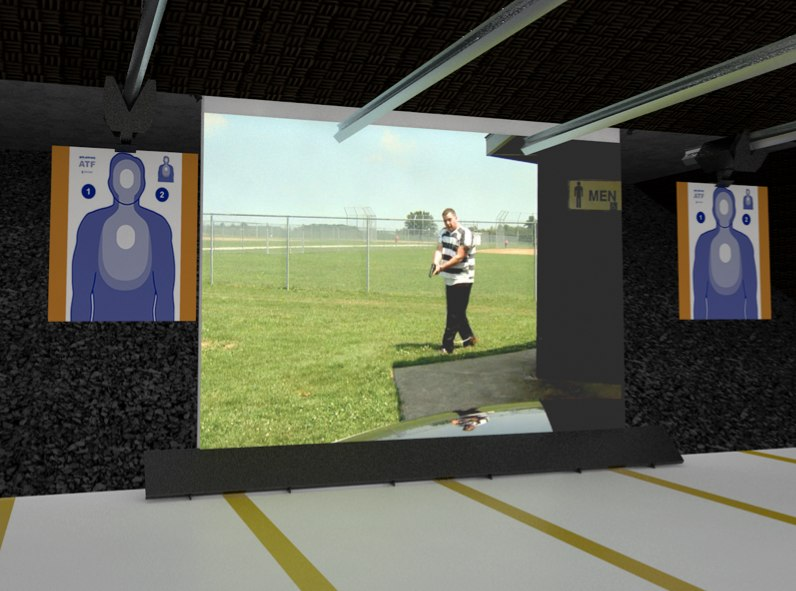 The easy-to-install, self-healing screen can be used with various types of weapons.