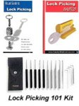 Lock Picking 101 Kit with DVD
