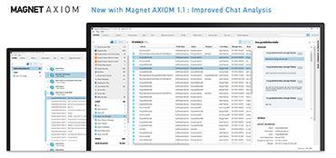 Magnet AXIOM intelligent forensics