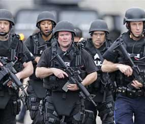 If law enforcement has become militarized, then the same is true for trauma medicine, aviation, video games, deer hunting, satellite television, and GPS navigation.