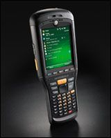 The Motorola MC9500-K Rugged Mobile Computer