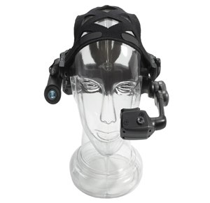 Motorola Solutions' HC1 Wearable Computer is a headset computer with advanced speech recognition and natural language software that supports six languages for responsive application command and control.