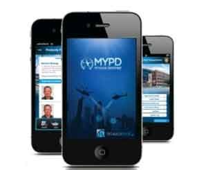Features include anonymous tips, one-touch dialing to a police department, and citizen surveys. (from wiredblue.co)