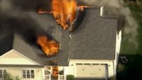 NH house explodes