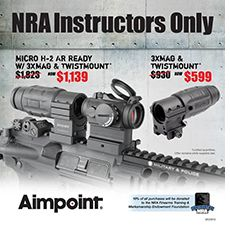 Aimpoint NRA Instructors Only Sale