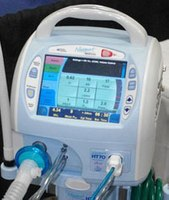 Full featured transport ventilator in a very small package