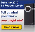 Take the P1 Reader Survey