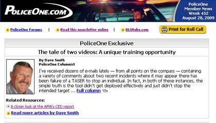 Police eNewsletter
