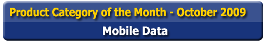 Product Category of the Month - Mobile Data