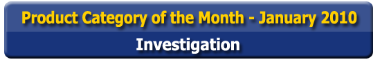 Product Category of the Month - Investigation