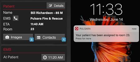 Pulsara App Version 6.1 Room Number